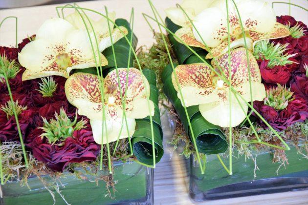 Livraison de fleurs - Bouquet Le duo 1