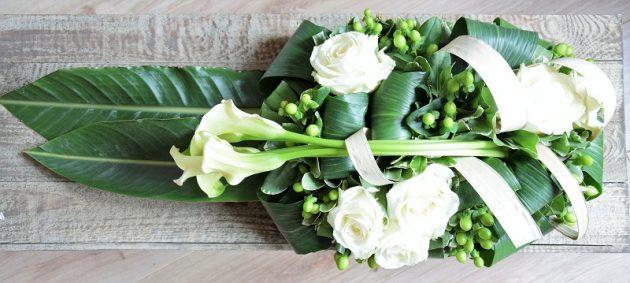 Livraison de fleurs - Fleur de deuil Ulysse 2