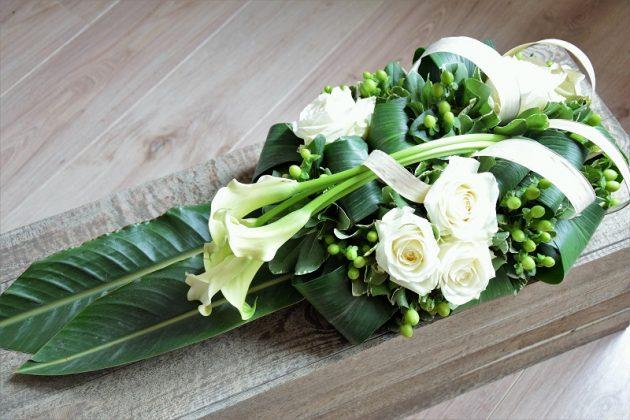 Livraison de fleurs - Fleur de deuil Ulysse